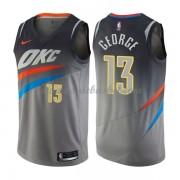 Maillot NBA Oklahoma City Thunder 2018 Paul George 13# City Edition..