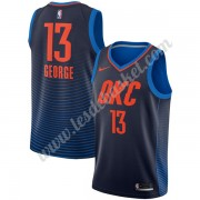 Maillot NBA Oklahoma City Thunder 2018 Paul George 13# Statement Edition..