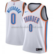 Maillot NBA Oklahoma City Thunder 2018 Russell Westbrook 0# Association Edition..