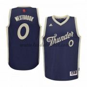 Maillot NBA Pas Cher Oklahoma City Thunder Homme 2015 Russell Westbrook 0# Noël Basket..
