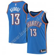 Maillot NBA Oklahoma City Thunder 2019-20 Paul George 13# Bleu Icon Edition Swingman..