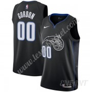 Maillot De Basket Enfant Orlando Magic 2019-20 Aaron Gordon 00# Noir City Edition Swingman..
