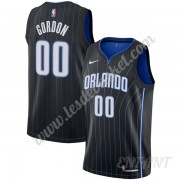 Maillot De Basket Enfant Orlando Magic 2019-20 Aaron Gordon 00# Noir Statement Edition Swingman..