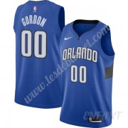 Maillot De Basket Enfant Orlando Magic 2019-20 Aaron Gordon 00# Bleu Finished Statement Edition Swin..