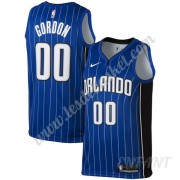 Maillot De Basket Enfant Orlando Magic 2019-20 Aaron Gordon 00# Bleu Icon Edition Swingman..