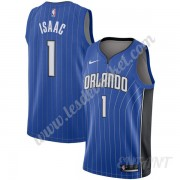 Maillot De Basket Enfant Orlando Magic 2019-20 Jonathan Isaac 1# Bleu Icon Edition Swingman..