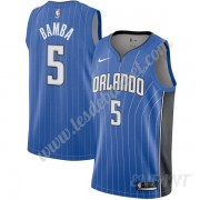 Maillot De Basket Enfant Orlando Magic 2019-20 Mohamed Bamba 5# Bleu Icon Edition Swingman..