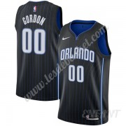 Maillot De Basket Enfant Orlando Magic 2019-20 Aaron Gordon 00# Noir Icon Edition Swingman..