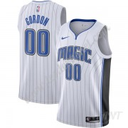 Maillot De Basket Enfant Orlando Magic 2019-20 Aaron Gordon 00# Blanc Association Edition Swingman..