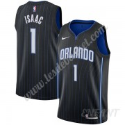 Maillot De Basket Enfant Orlando Magic 2019-20 Jonathan Isaac 1# Noir Icon Edition Swingman..