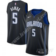 Maillot De Basket Enfant Orlando Magic 2019-20 Mohamed Bamba 5# Noir Icon Edition Swingman..