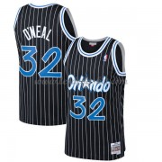 Maillot NBA Orlando Magic 1994-95 Shaquille O'Neal 32# Black Hardwood Classics..