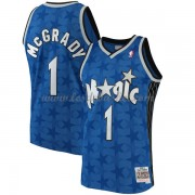 Maillot NBA Orlando Magic 2001-02 Tracy McGrady 1# Blue Hardwood Classics..
