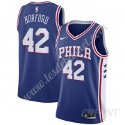 Maillot De Basket Enfant Philadelphia 76ers 2019-20 Al Horford 42# Bleu Icon Edition Swingman..