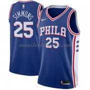 Maillot NBA Philadelphia 76ers 2018 Ben Simmons 25# Icon Edition..