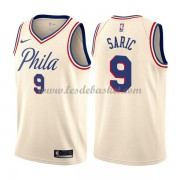 Maillot NBA Philadelphia 76ers 2018 Dario Saric 9# City Edition..