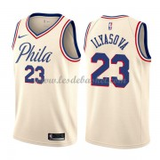 Maillot NBA Philadelphia 76ers 2018 Ersan Ilyasova 23# City Edition..