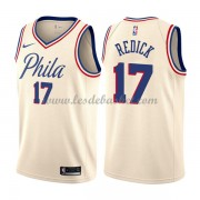 Maillot NBA Philadelphia 76ers 2018 J.J. Redick 17# City Edition..