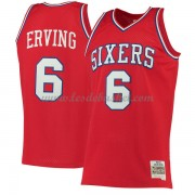 Maillot NBA Philadelphia 76ers 1982-83 Julius Erving 6# Red Hardwood Classics..