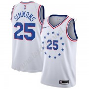 Maillot NBA Philadelphia 76ers 2019-20 Ben Simmons 25# Blanc Earned Edition Swingman..