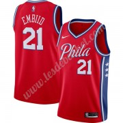 Maillot NBA Philadelphia 76ers 2019-20 Joel Embiid 21# Rouge Finished Statement Edition Swingman..
