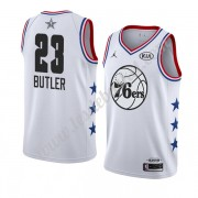 Maillot NBA Pas Cher Philadelphia 76ers 2019 Jimmy Butler 23# Blanc All Star Game Swingman..