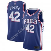 Maillot NBA Philadelphia 76ers 2019-20 Al Horford 42# Bleu Icon Edition Swingman..