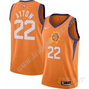 Maillot De Basket Enfant Phoenix Suns 2019-20 DeAndre Ayton 22# Orange Finished Statement Edition Sw..