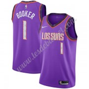Maillot NBA Phoenix Suns 2019-20 Devin Booker 1# Violet City Edition Swingman..