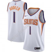 Maillot NBA Phoenix Suns 2019-20 Devin Booker 1# Blanc Association Edition Swingman..