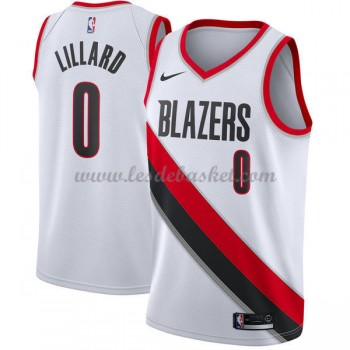 Maillot Basket Enfant Portland Trail Blazers 2018 Damian Lillard 0# Association Edition