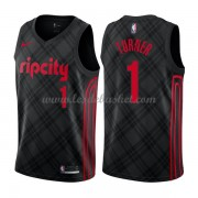 Maillot Basket Enfant Portland Trail Blazers 2018 Evan Turner 1# City Edition..