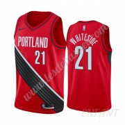 Maillot De Basket Enfant Portland Trail Blazers 2019-20 Hassan Whiteside 21# Rouge Statement Edition..