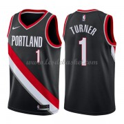 Maillot NBA Portland Trail Blazers 2018 Evan Turner 1# Icon Edition..