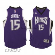 Maillot Basket Enfant Sacramento Kings 2015-16 DeMarcus Cousins 15# Road..