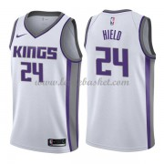 Maillot Basket Enfant Sacramento Kings 2018 Buddy Hield 24# Association Edition..