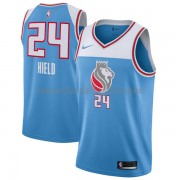 Maillot Basket Enfant Sacramento Kings 2018 Buddy Hield 24# City Edition..