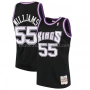Maillot Basket Enfant Sacramento Kings 2000-01 Jason Williams 55# Black Hardwood Classics..