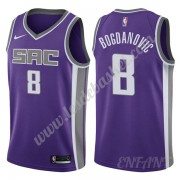 Maillot De Basket Enfant Sacramento Kings 2019-20 Bogdan Bogdanovic 8# Violet Icon Edition Swingman..