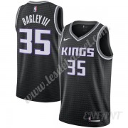 Maillot De Basket Enfant Sacramento Kings 2019-20 Marvin Bagley III 35# Noir Statement Edition Swing..