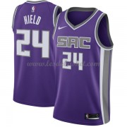 Maillot NBA Sacramento Kings 2018 Buddy Hield 24# Icon Edition..
