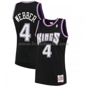 Maillot NBA Sacramento Kings 2000-01 Chris Webber 4# Black Hardwood Classics..