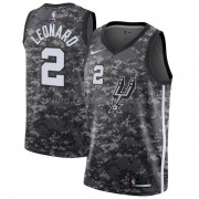 Maillot Basket Enfant San Antonio Spurs 2018 Kawhi Leonard 2# City Edition..