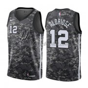 Maillot Basket Enfant San Antonio Spurs 2018 LaMarcus Aldridge 12# City Edition..