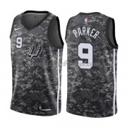 Maillot Basket Enfant San Antonio Spurs 2018 Tony Parker 9# City Edition..