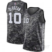 Maillot De Basket Enfant San Antonio Spurs 2019-20 DeMar DeRozan 10# Noir City Edition Swingman..