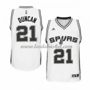 Maillot NBA San Antonio Spurs 2015-16 Tim Duncan 21# Home..