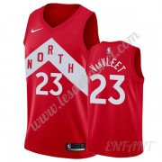 Maillot De Basket Enfant Toronto Raptors 2019-20 Fred VanVleet 23# Rouge Earned Edition Swingman..