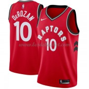 Maillot NBA Toronto Raptors 2018 DeMar DeRozan 10# Icon Edition..