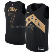 Maillot NBA Toronto Raptors 2018 Kyle Lowry 7# City Edition..